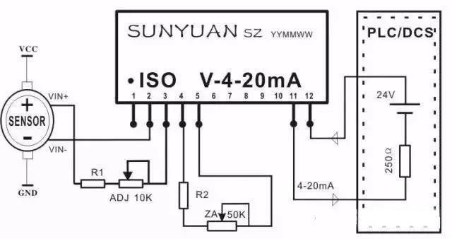 隔离型电压信号转换放大